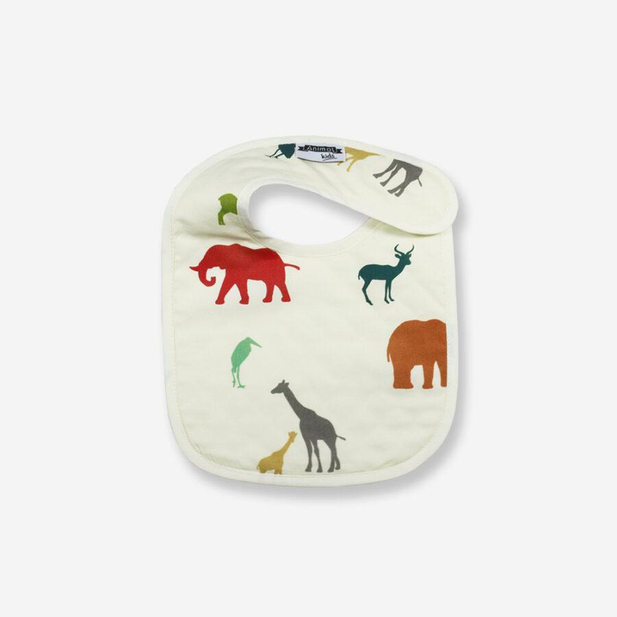 Babero bebé Serengeti Animal Kids