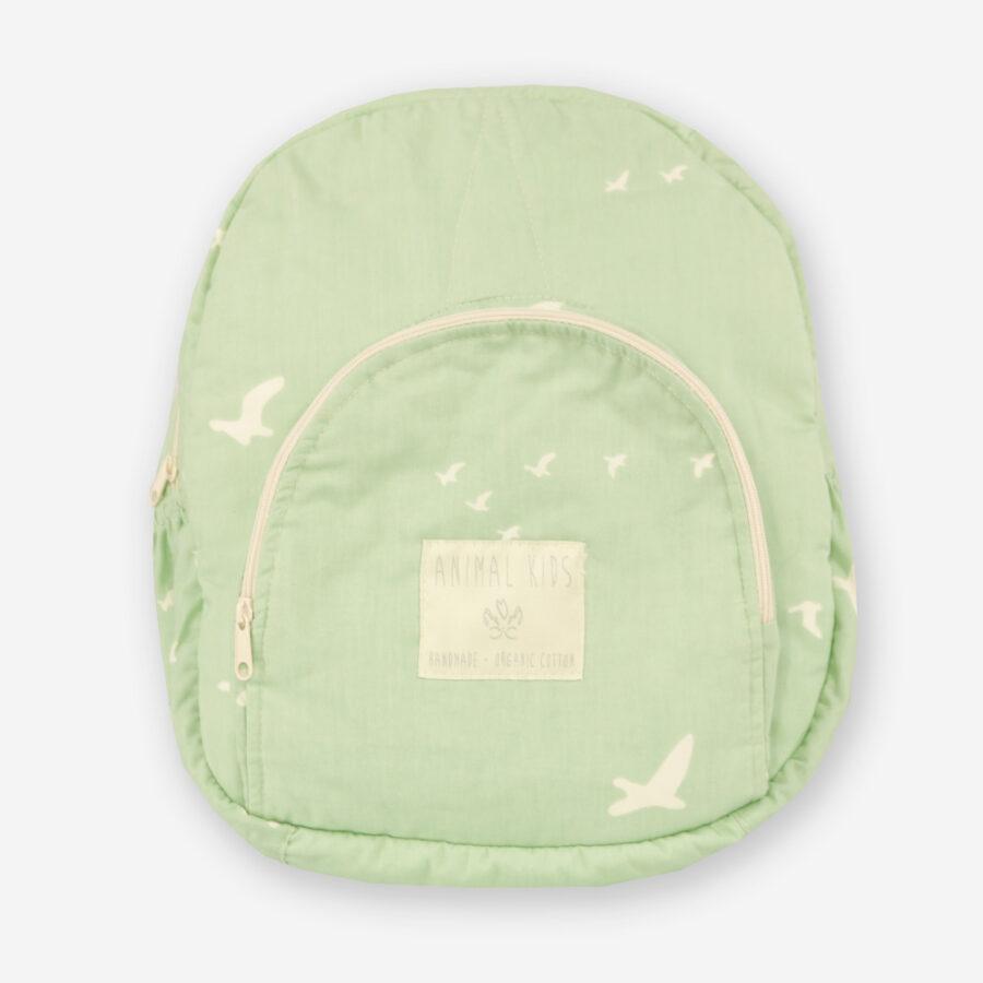 Mochila para niños de algodón orgánico Animal Kids